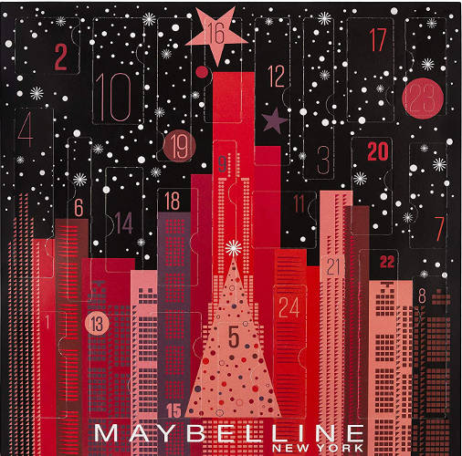 Bester Beauty Adventkalender 2019 von Maybelline !